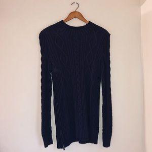 Banana Republic Navy Blue Sweater Tunic